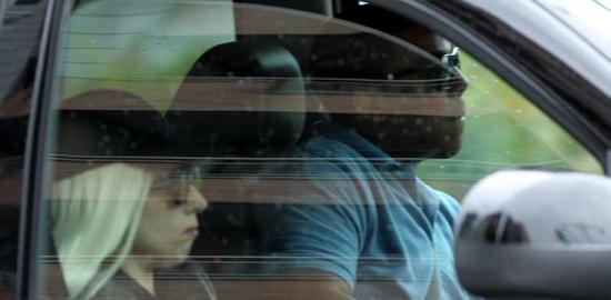 Lady GaGa en voiture à NYC