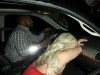 Lady Gaga Keeps Her Head Low As She Arrives At The Chateau Marmont.   - Lady Gaga