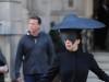 Lady Gaga Leaves Her London Hotel