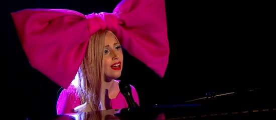 Lady Gaga - Marry The Night Acoustic on Alan Carr Chatty Man