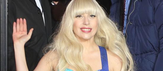 Lady Gaga pour l'ouverture de H&M à NYC