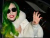 Lady Gaga arrives into Chicago