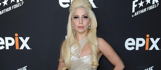 Lady Gaga à l'avant première de Who the F**k is Arthur Fogel