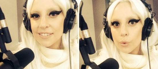 Lady Gaga chez Ryan Seacrest