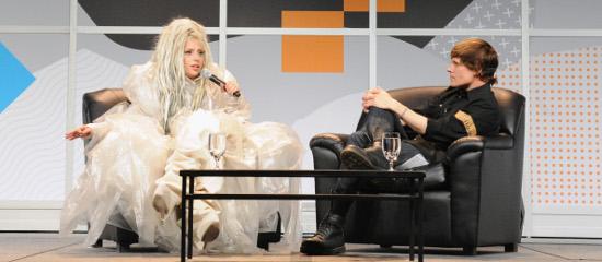 Conférence lors du Festival SXSW