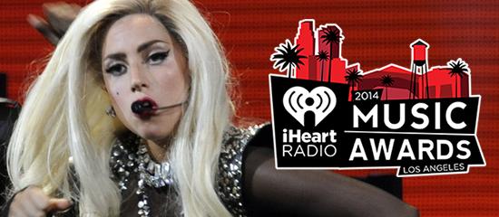 Lady Gaga aux iHeartRadio Music Awards