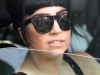 Lady Gaga with her new tattoo in New York