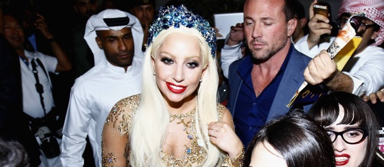 Lady Gaga en Asie