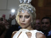 """Singer Lady Gaga leaves a hotel on her way for a concert, which is part of her """"ArtRave: The Artpop Ball"""" world tour, in Athens"""