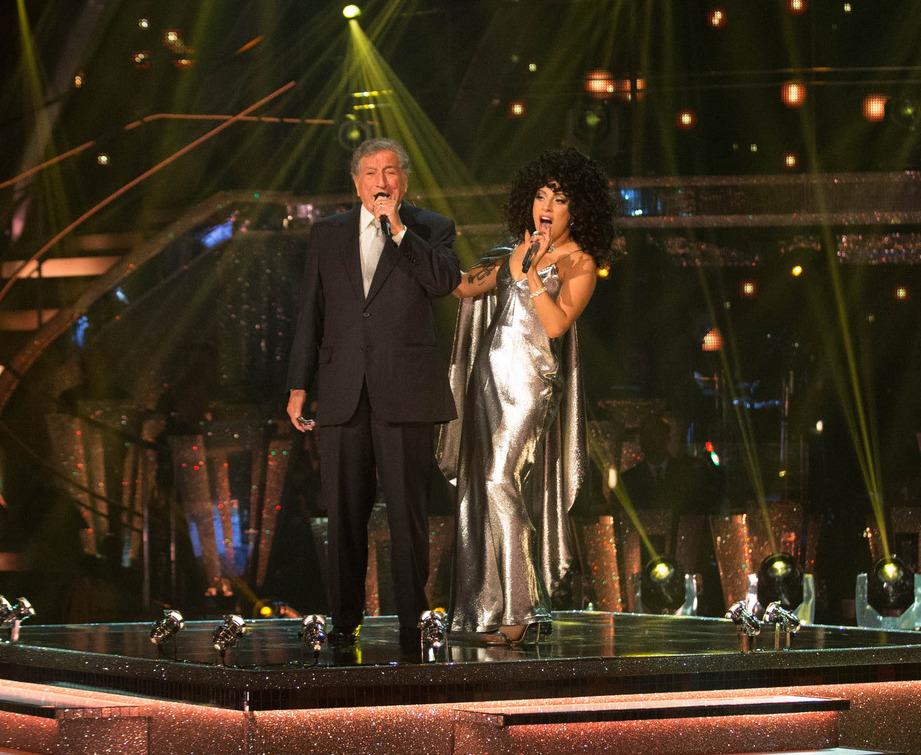 Lady Gaga et Tony Bennett pour LG
