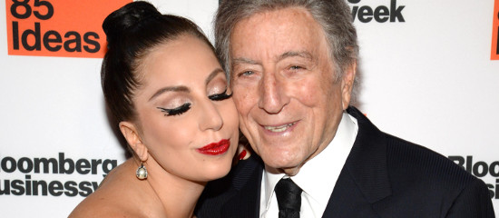 Lady Gaga et Tony Bennett pour Bloomberg's BusinessWeek