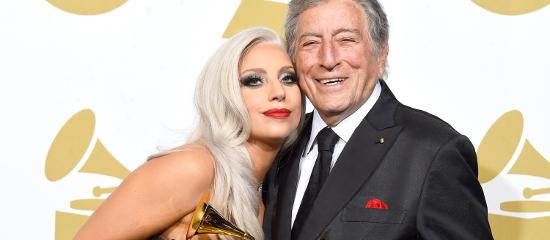Lady Gaga aux Grammy Awards 2015