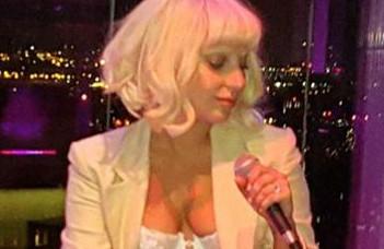 Lady Gaga au Rockefeller Plaza
