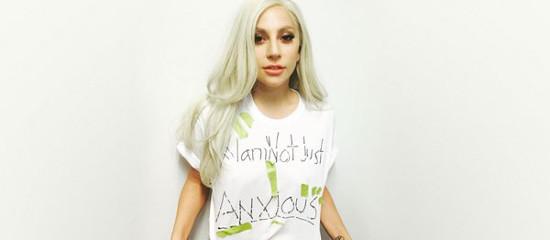 Lady Gaga à l'« Emotion Revolution»