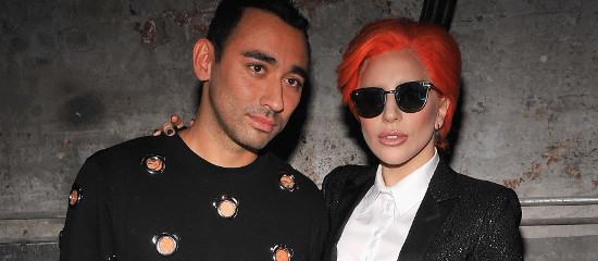 Lady Gaga au défilé de Nicola Formichetti