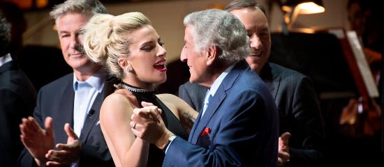 Lady Gaga à «Tony B. Celebrates 90»