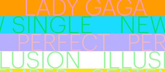 Lady Gaga annonce la sortie d'un nouveau single !