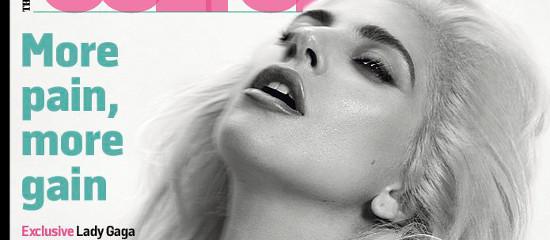 Lady Gaga pour le Sunday Times Culture