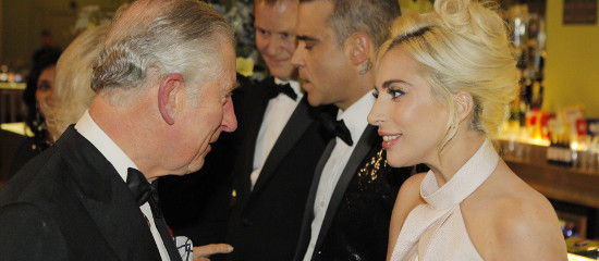Lady Gaga au Royal Variety Show