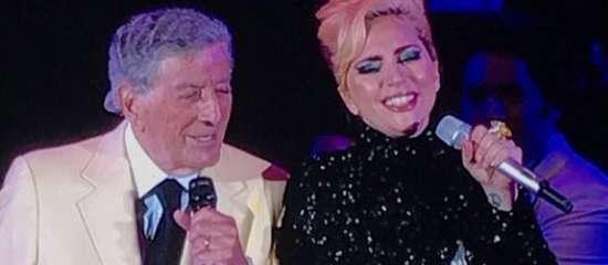 Lady Gaga au Hollywood Bowl