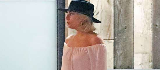 Gaga à Malibu