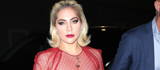 Lady Gaga à Milan