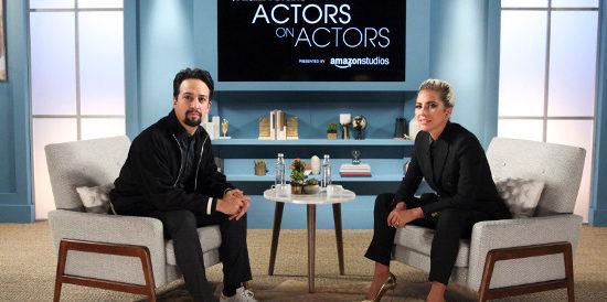 Lady Gaga dans «Actors on Actors»