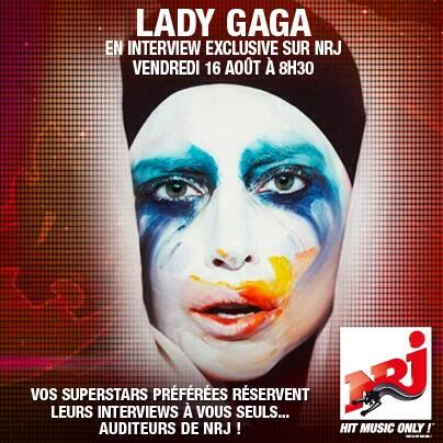 Lady Gaga – Interview NRJ