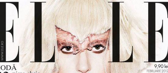 Lady Gaga en couverture de Elle UK