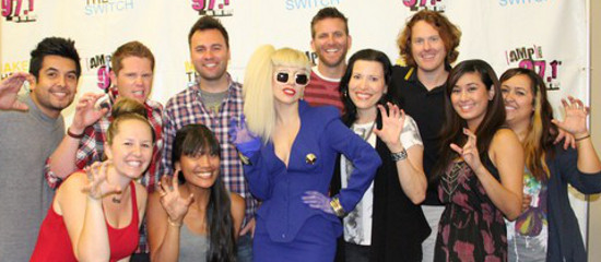 Interview de Lady Gaga à AMP Radio
