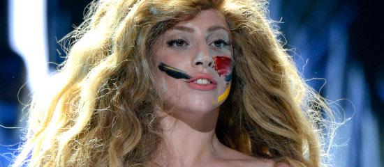 Lady Gaga aux MTV VMAs 2013