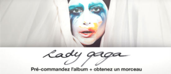 Classements Itunes – Applause / ARTPOP