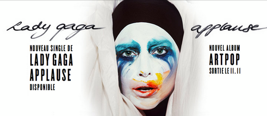 Concours Applause sur Lady Gaga France