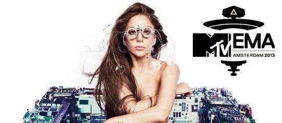 Lady Gaga nominée aux MTV EMA