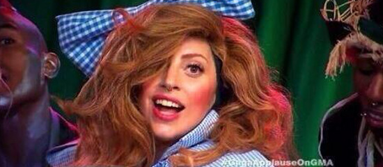Lady Gaga à Good Morning America