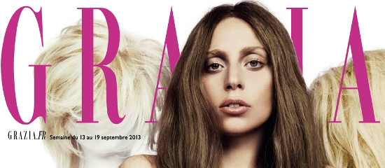 Lady Gaga dans Grazia