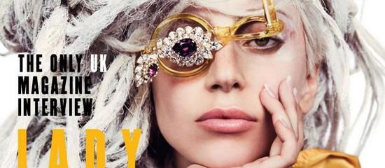 Lady Gaga dans Attitude Magazine