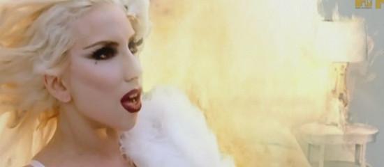 Lady Gaga aux YouTube Music Awards