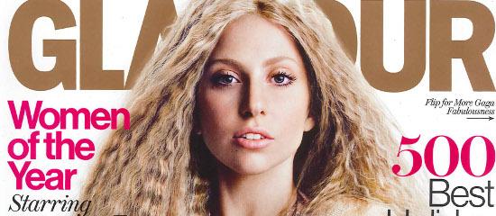 Lady Gaga dans Glamour US