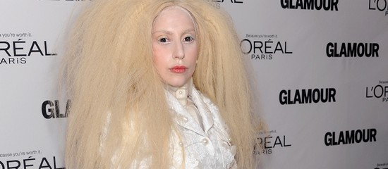 Lady Gaga aux Glamour Women Awards