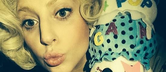 Lady Gaga poste sur Instagram