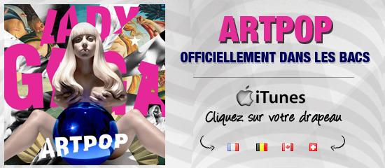 L'album ARTPOP est officiellement en vente