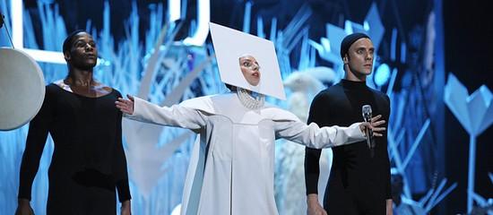 Lady Gaga à la fermeture du Roseland Ballroom