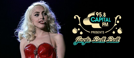 Lady Gaga au Jingle Bell Ball 2013