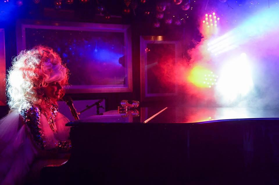 Lady Gaga en concert privé à Londres