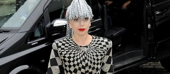 Lady Gaga à Paris