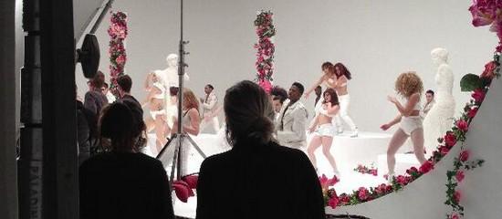 Projet vidéo de Lady Gaga au Hearst Castle