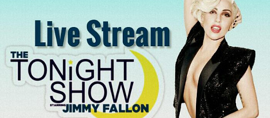 Lady Gaga dans The Tonight Show