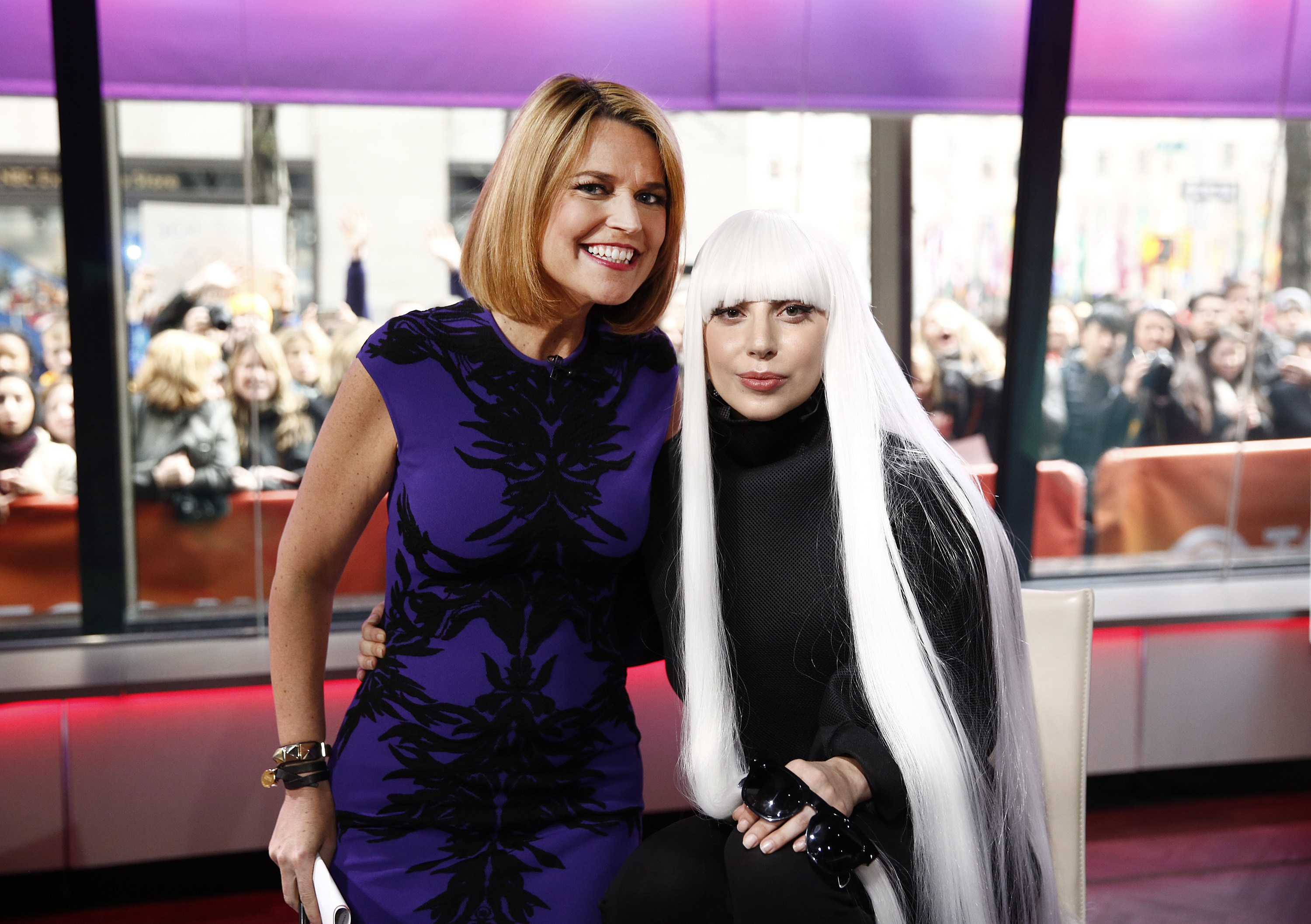 Lady Gaga dans  Today Show