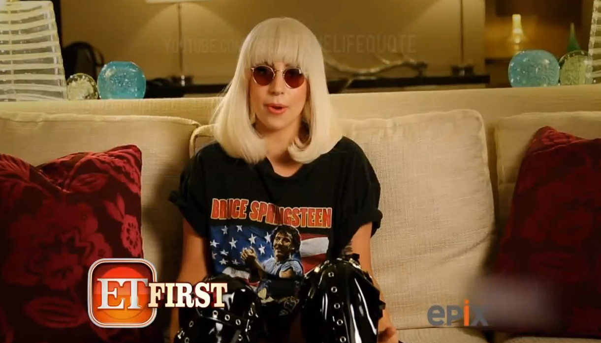 Interview de Lady Gaga par ET